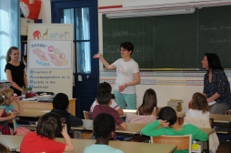 Sensibilisation du handicap en classe CE1 - association SASHA
