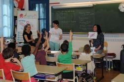 Session de sensibilisation du handicap à l'école
