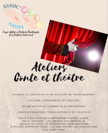 Ateliers contes et théâtre