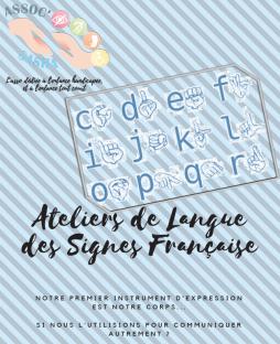 Ateliers de langue des signes française